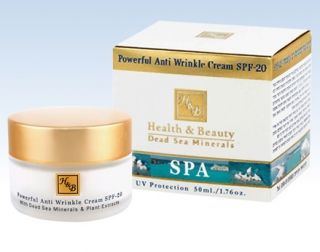 H&B Dead Sea Powerful Anti Wrinkle #Cream SPF 20 by aJudaica