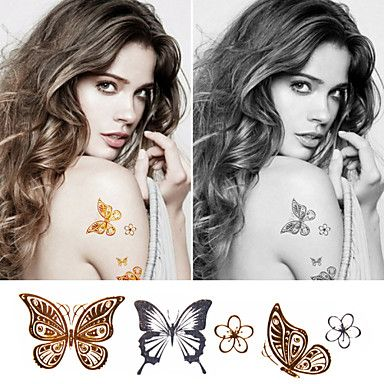 Butterfly Temporary Tattoo Sticker