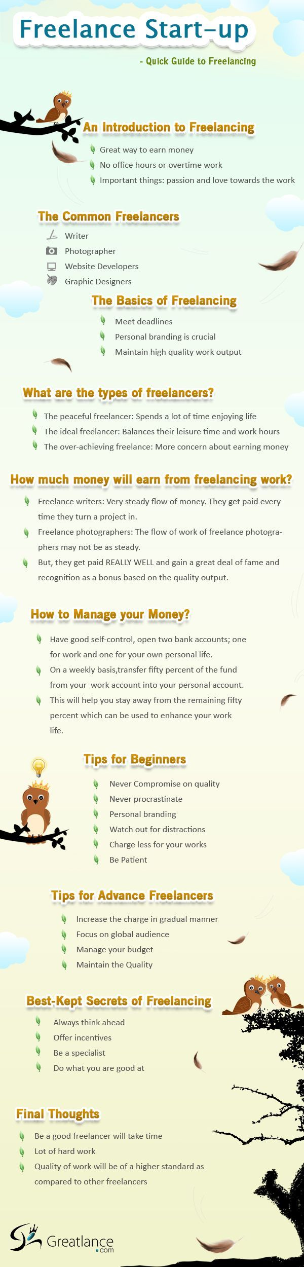 Freelance Startup. How To Kick Start Your Freelance Business.   Love A Good  Success