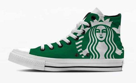 starbucks-converse, should be mandatory for Starbucks workers, employer supplied.