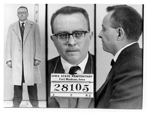 Victor Harry Feguer (1935 – March 15, 1963) was a convicted murderer and the last federal inmate executed in the United States before the moratorium on the death penalty following Furman v. Georgia, and the last person put to death in the state of Iowa. While at the time the news media paid little attention to Victor Feguer or his execution, Timothy McVeigh's execution sparked renewed media interest in Feguer.