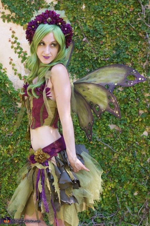how to make a woodland fairy costume