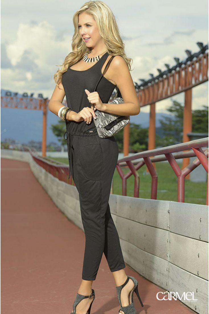 #Enterizo #Moda #Black #Fashion