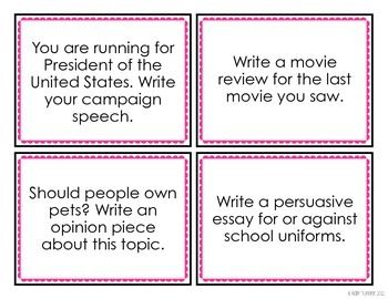 topics for persuasive writing 4th grade Some interesting and unique speech topics for fourth grade are life without what are some speech topics for grade sixth grade writing prompts are story.