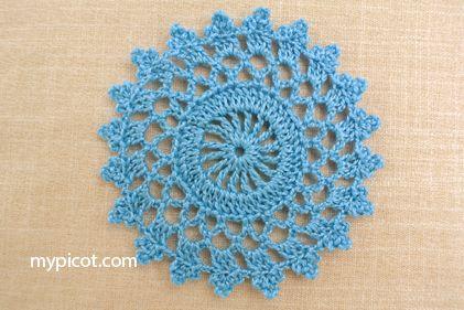 MyPicot   Free crochet patterns