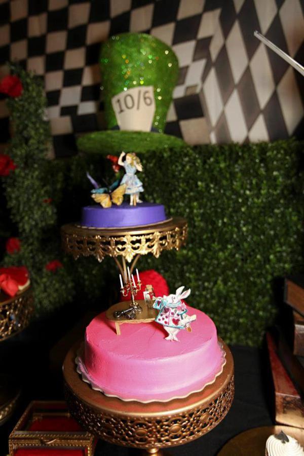 Midnight Alice in Wonderland 30th Un Birthday Party