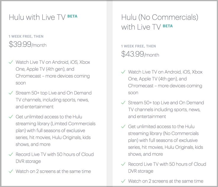 'Hulu With Live TV' Appears on App Store, Includes FOX, ABC, NBC, CBS, ESPN, and More [Update: $39.99+]