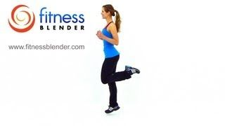 HIIT Workout for Fat Loss - FitnessBlender.com's At Home HIIT Workout Program for Weight Loss, via YouTube.