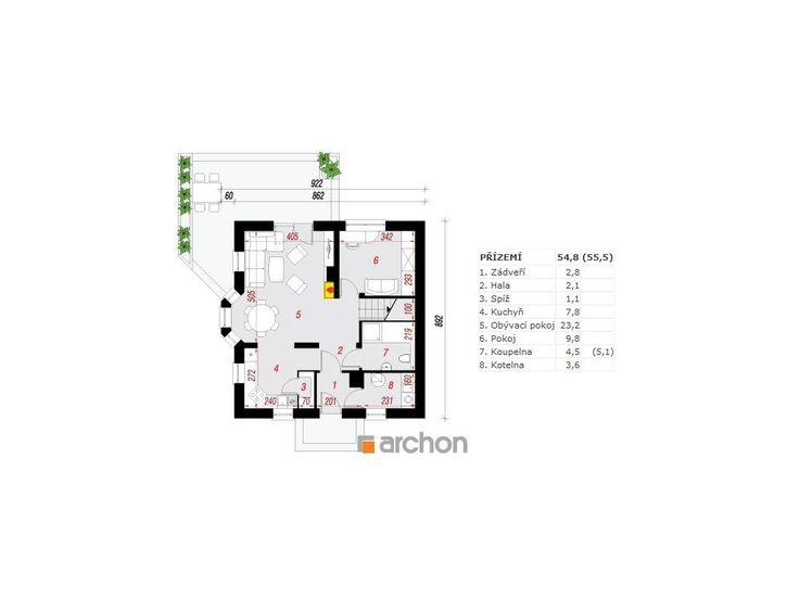 Dům mezi rododendrony - PROJEKTY DOMŮ ARCHON+