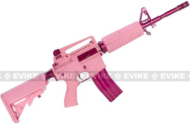 """G&G M4 Carbine """"Femme Fatale"""" Special Edition M4 Combat Machine ..."""