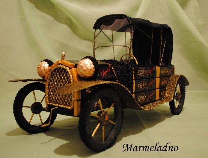 Ретро автомобиль мастер класс