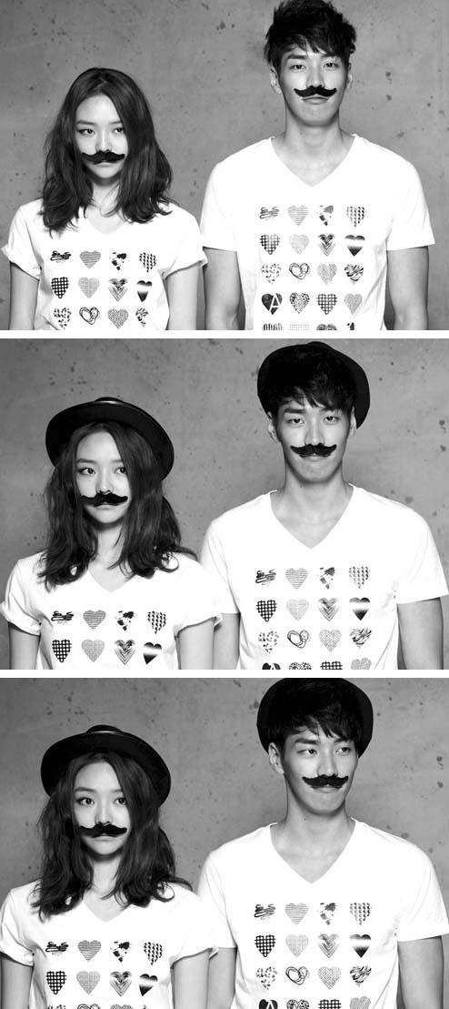 모델 이솜 & 김영광