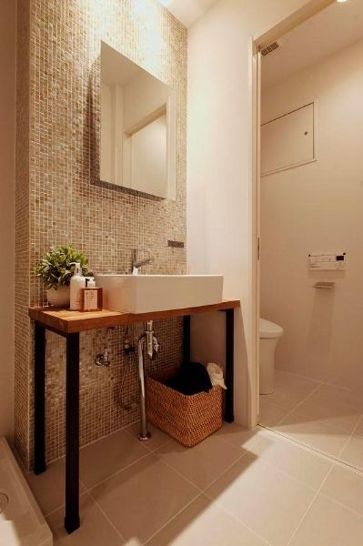 sanitary room idea