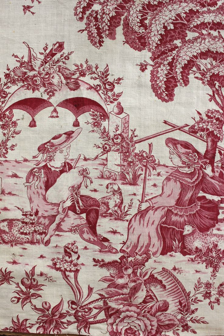 1150 best toile de jouy images on pinterest toile for French toile fabric