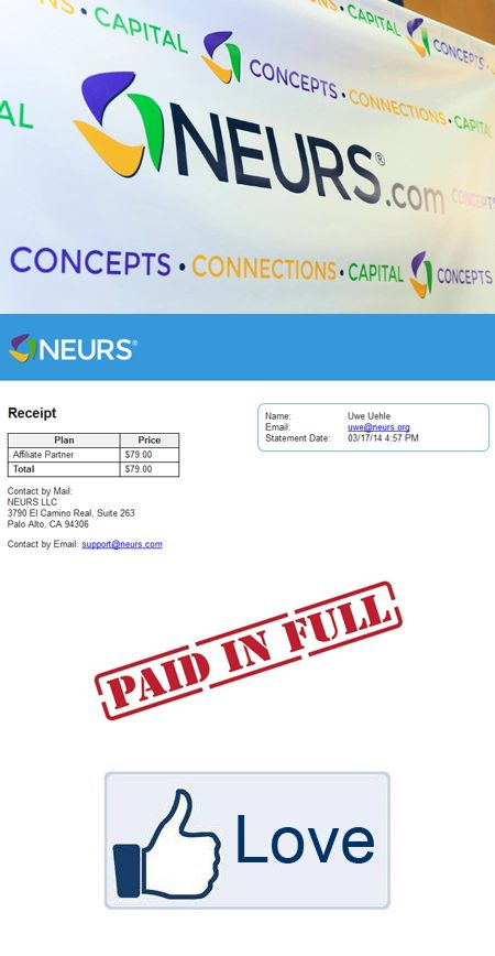 Today at NOON Eastern Standard Time, Neurs affiliates have the opportunity to upgrade their Affiliate status and position themselves for an awesome future with Neurs.com! Upgrading is super easy! S...