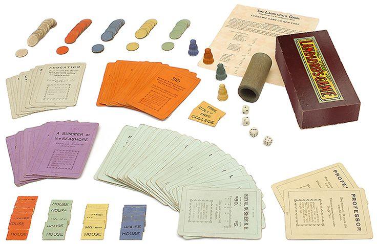 Landlord's Game pieces - Circa 1906