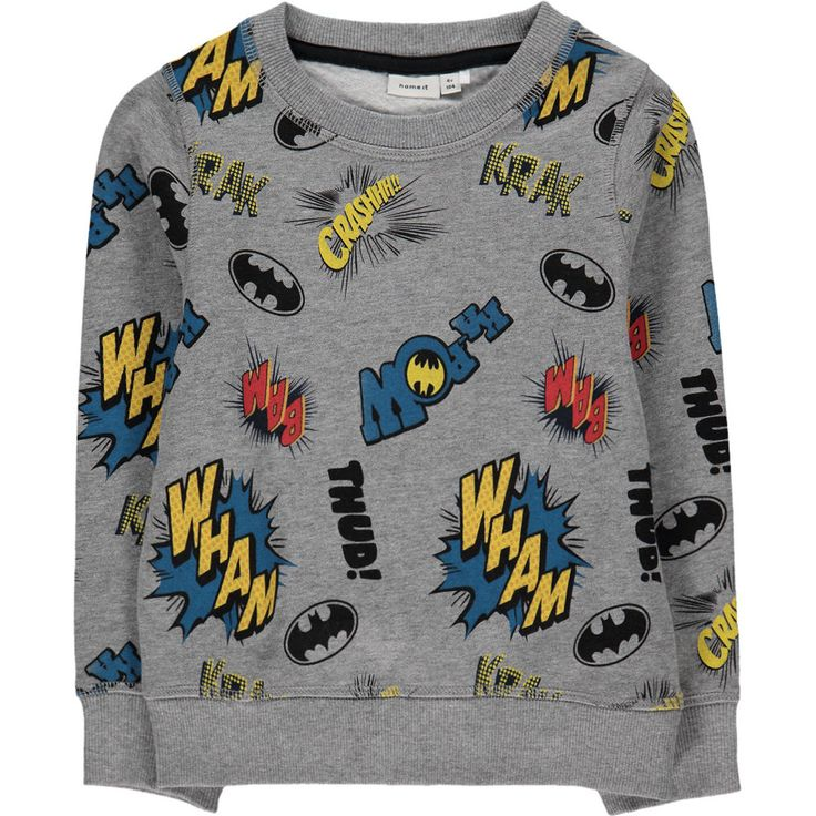 Name it Batman Riley Sweater Met All-over Print