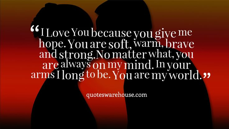 Because You Loved Me Quotes: 20 Best Images About Love Quotes On Pinterest