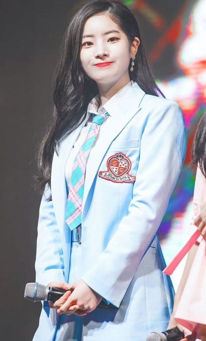 Pin By Nct S Mother On Twice Uniform Fashion Twice Dahyun Kpop Girl Groups