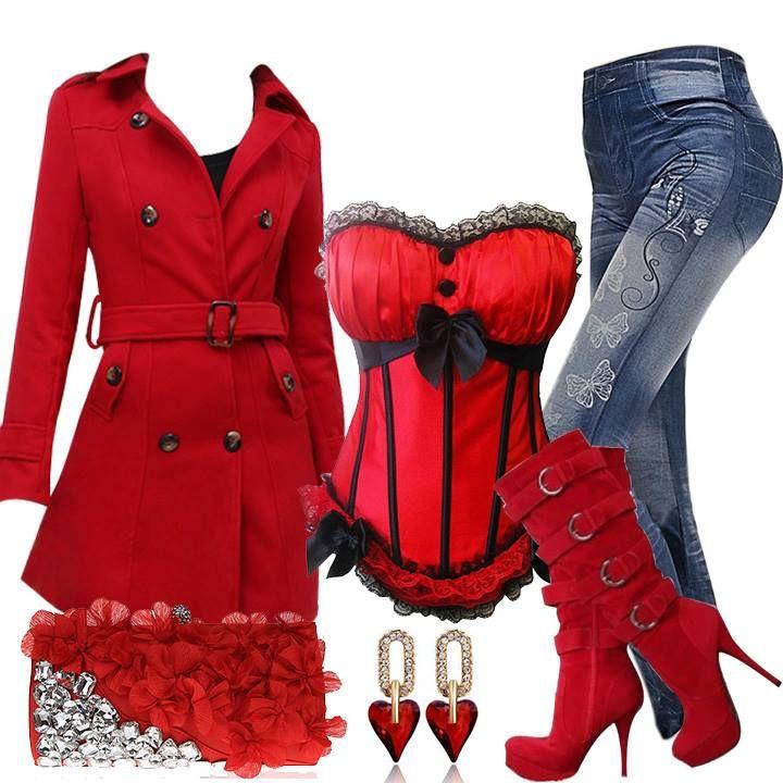 Overcoats:http://bit.ly/1CuVfU4 Corsets:http://bit.ly/1CuVejg High Heels Boots:http://bit.ly/1CuVezv Leggings:http://bit.ly/1CuVezz