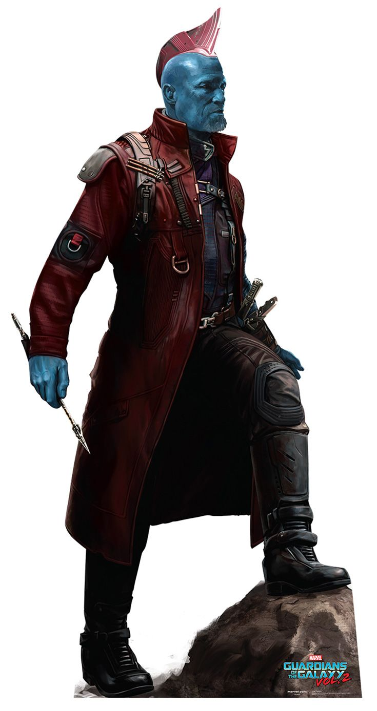 """YONDU UDONTA Cardboard Cutout Standup / Standee from """"Guardians of the Galaxy Vol 2 (2017)"""" 