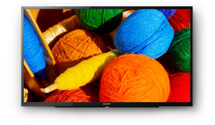 Hình ảnh sắc nét, mượt mà với Tivi LED Sony 32 inch KDL-32R300E