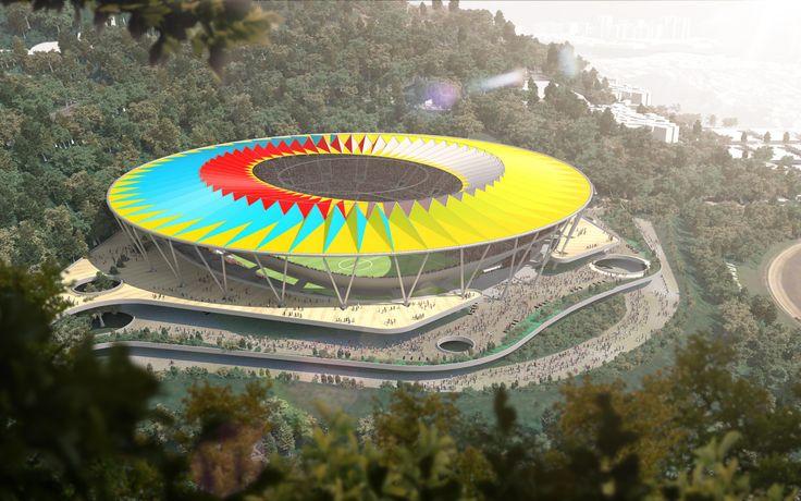 Gallery - Rogers Stirk Harbour Unveils Design for Venezuela's National Football Stadium - 1