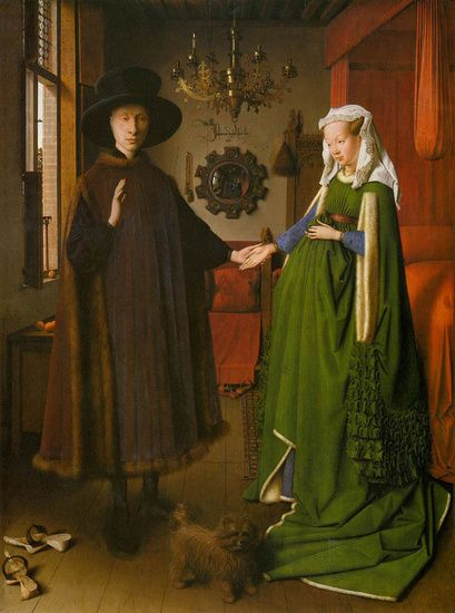 Early Northern Renaissance fascinates me, including this work by Jan van Eyck.