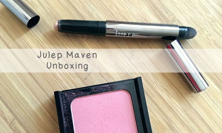 Unboxing Julep Maven  - Throwback to October. A perfect glow for those sick weather woes. http://coryu.ca/post/133279424947/unboxing-julep-maven-throwback-to-october-first