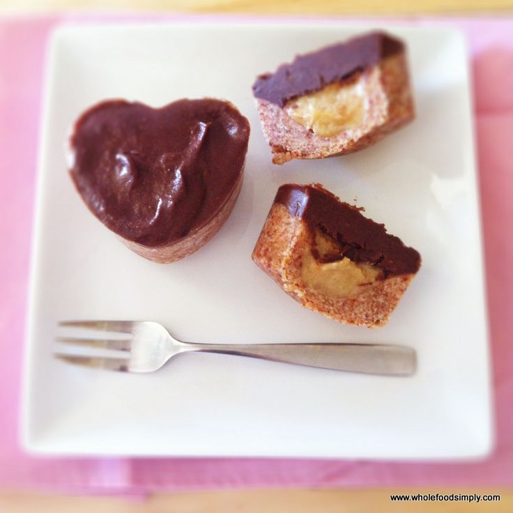 choc topped caramel hearts