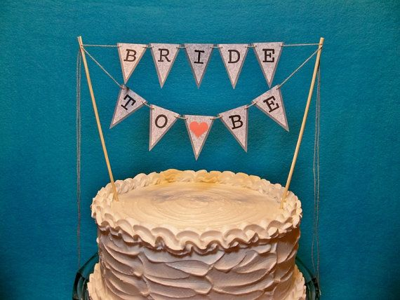 bridal shower cake toppers bridal shower cake topper banner garland bunting to 2063