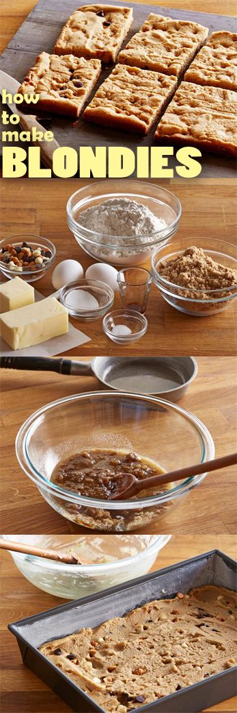 236 best lets learn images on pinterest food network recipes how to make blondies food network how to make blondieseasy blondies recipeawesome dessertseasy forumfinder Image collections