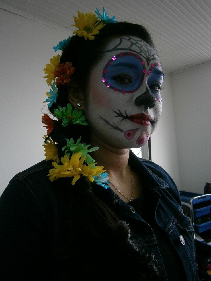 make-up  catrina