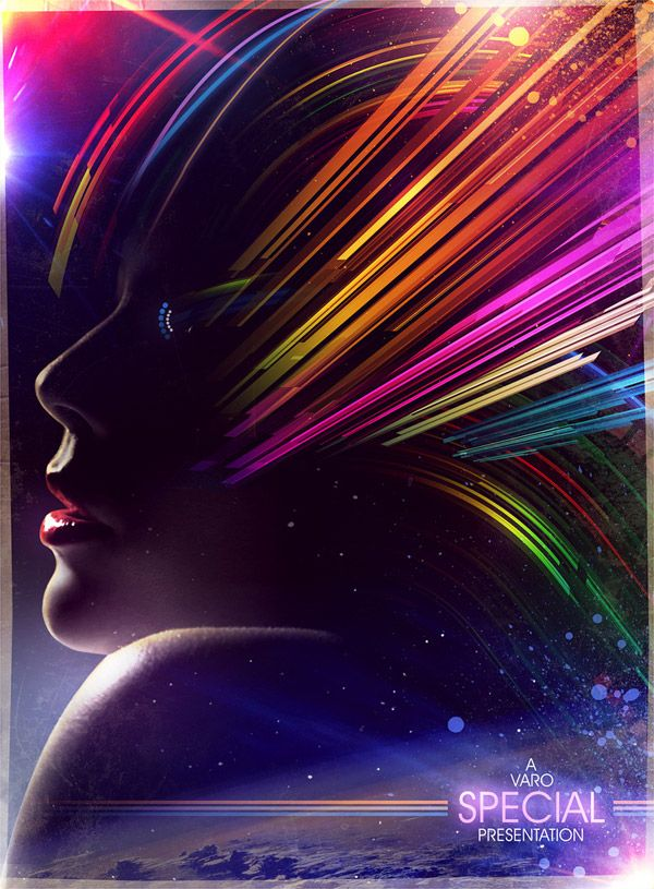 Showcase of Vibrant 80s Inspired Neon Artwork