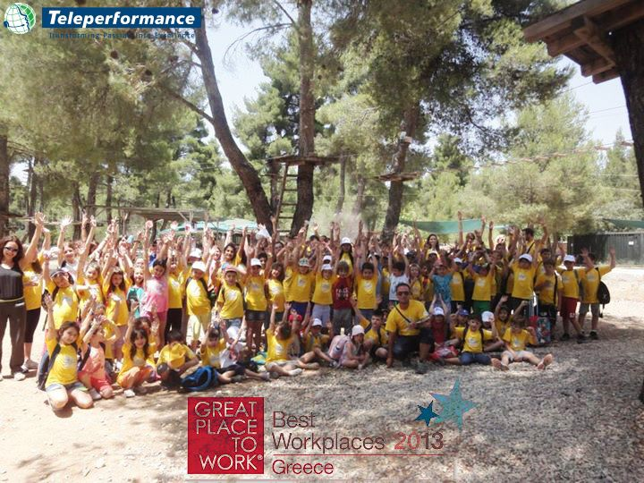Summer camp 2014 for our employees' children!