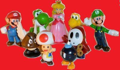 Super+Mario+actionfigurer