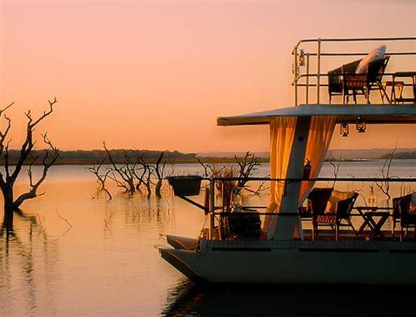 Boat trips at White Elephant Safari Lodge, KZN
