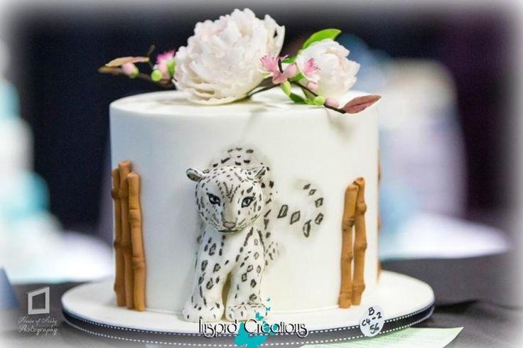 Snow Leopard by Willene Clair Venter