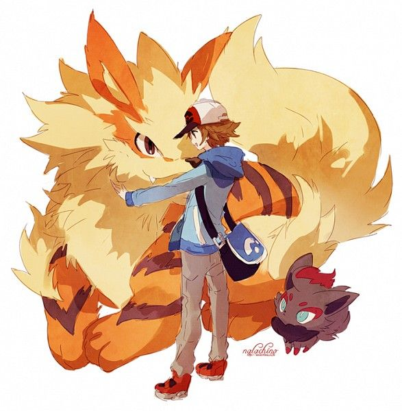 Black hilbert with arcanine and zorua by welchino teh - Arcanine pics ...