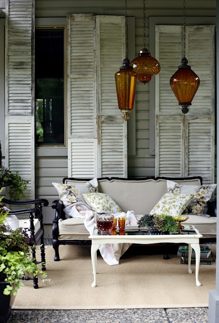 An amazing outdoor space; Vintage Home: Canadian Living Magazine, Patio