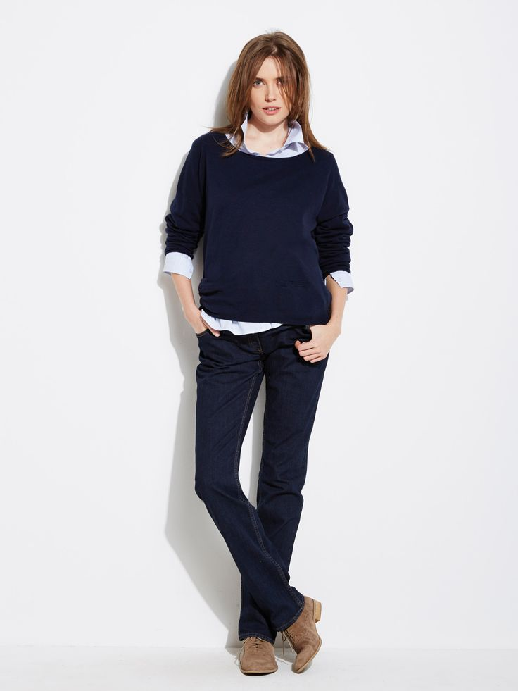 #Chemise #coton stretch #grossesse, Future #Maman - Collection Colline automne hiver 2014 - www.vertbaudet.fr