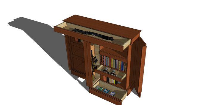 Bookcase bookcases pinterest bookcases for Secret storage bookcase