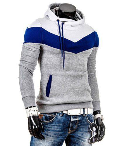Big Boys Klub Insane Blue Sweater Hoodie For Men