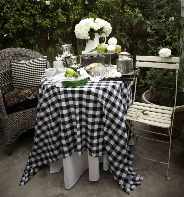 Set A Bistro Table For Two With Vintage Accents, Layered Linens And  Sparkling Mercury Glass