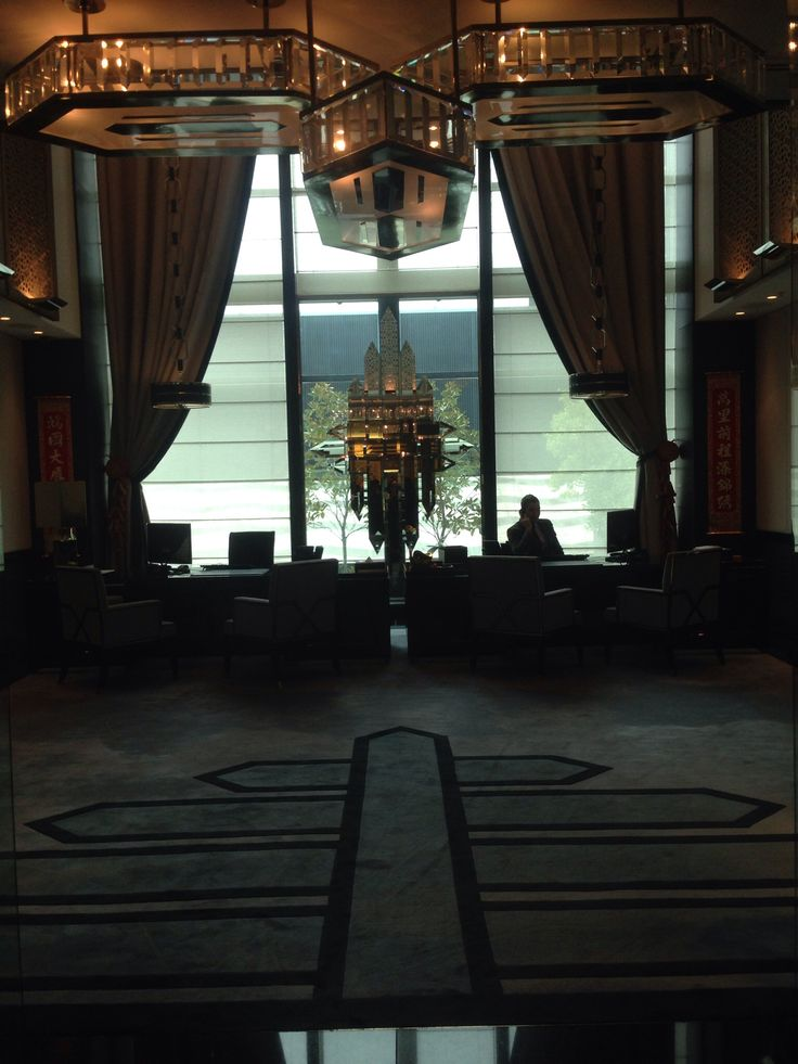 Reception area for the high rollers suites.