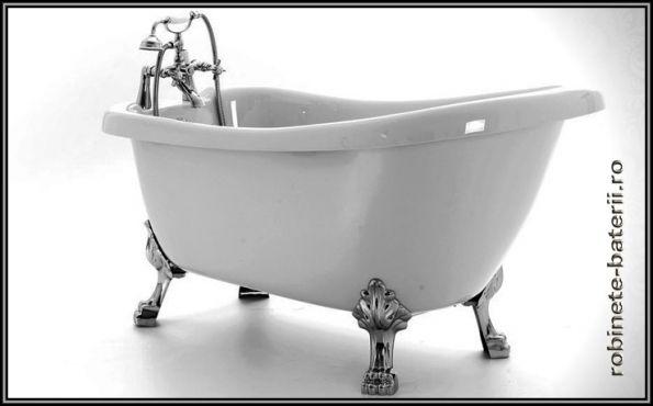 cada baie retro, cada baie Venus, cada baie cu picioare, cada cu picioare metalice