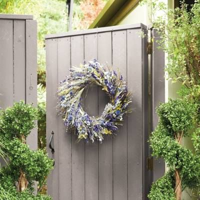 Wild Flower Garden Wreath - Frontgate