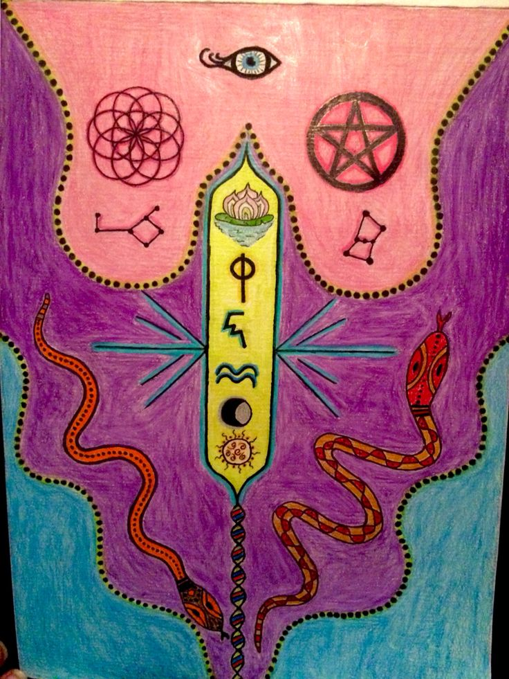 This is one of my spiritual drawings I do occasionally, their always such fun to do