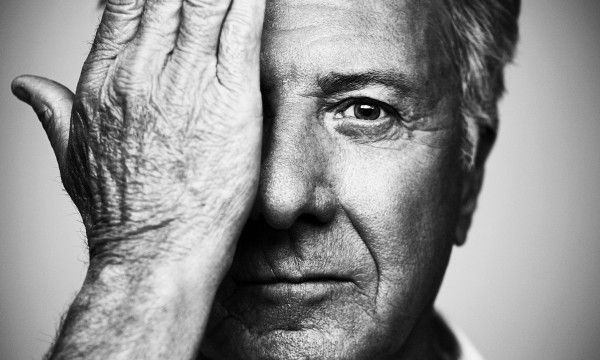 """The Guardian recently did a cover story of veteran actor Dustin Hoffman - and this is the image crowning the whole thing. In the article he states """" I was an outsider, on the periphery looking in"""". Not anymore. And that's what you need to do to stay in."""