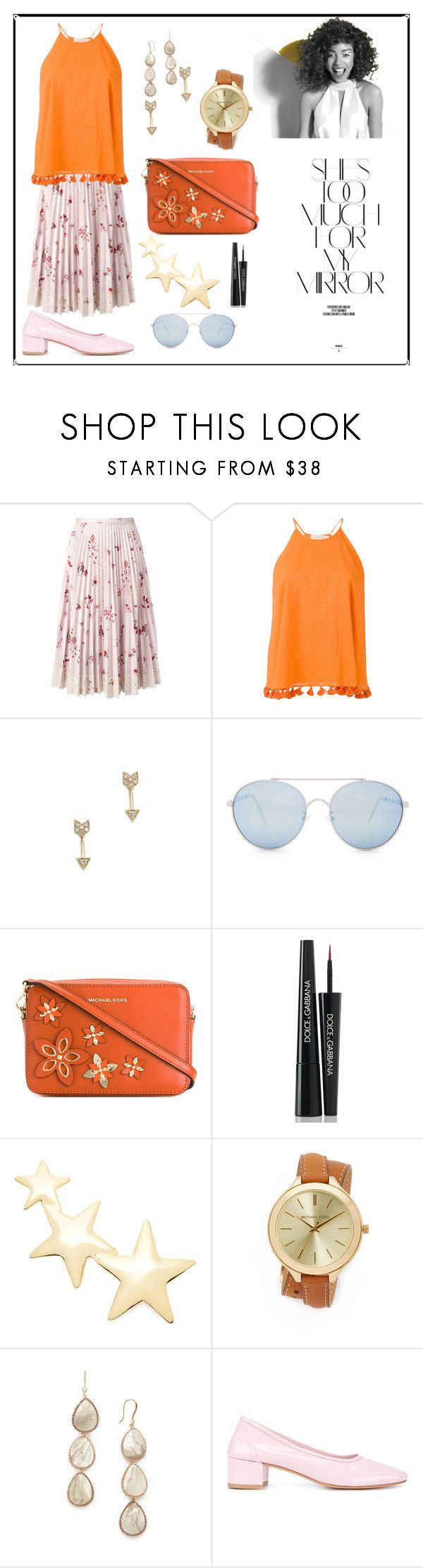 """""""she's too much¶"""" by racheal-taylor ❤ liked on Polyvore featuring RED Valentino, Tory Burch, EF Collection, Quay, MICHAEL Michael Kors, Dolce&Gabbana, Kenneth Jay Lane, Michael Kors, Theia Jewelry and Maryam Nassir Zadeh"""